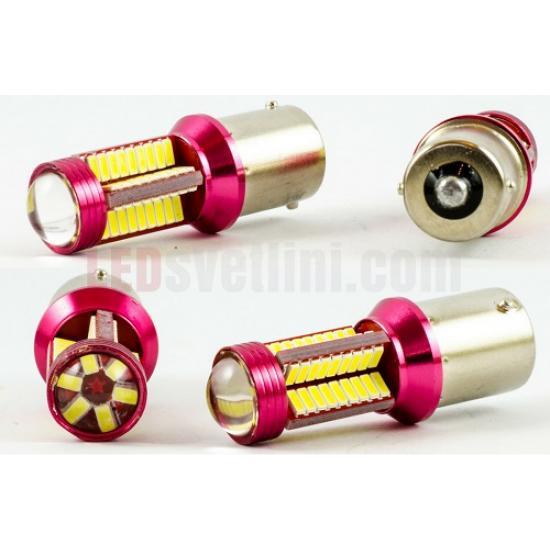 Сигнални крушки - P21W BA15s 78 smd